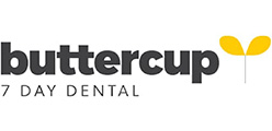 Angela and Gerwyn Rowlands, Buttercup Dentals company logo.
