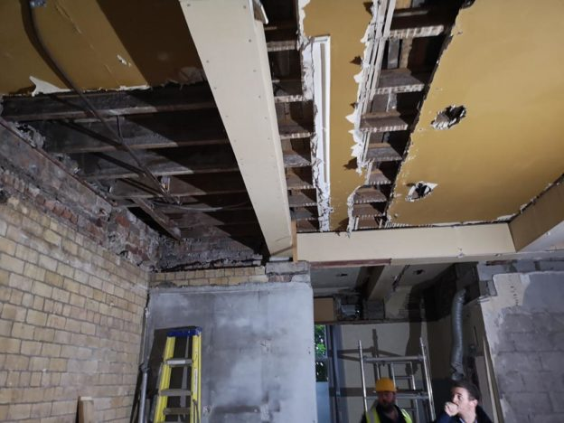 On site, under construction, New Dental Surgery